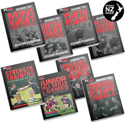 Rugby Coaching Full Library Set
