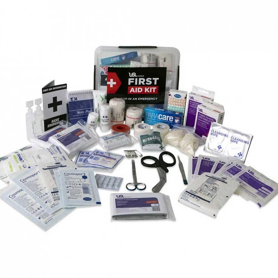 USL Comprehensive First Aid Kit 5 Litre - Plastic