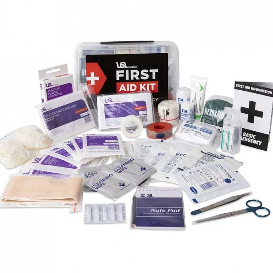 USL All Purpose First Aid Kit 2 Litre - Plastic