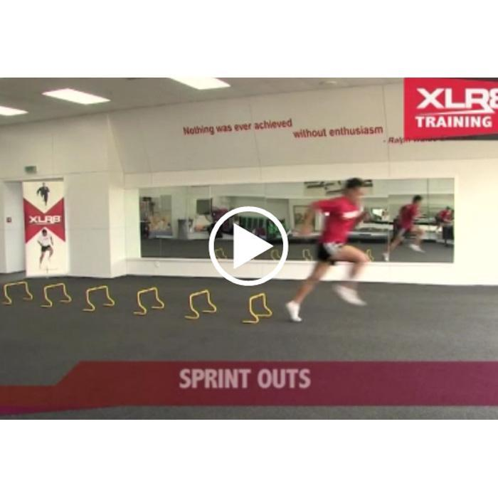Mini Hurdle Drills Online Video