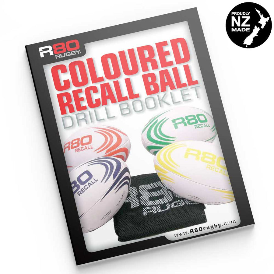 R80 Coloured Rugby Ball Activities & Drills eBook