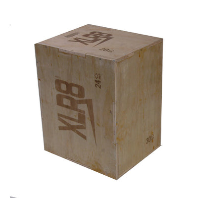 XLR8 3 in 1 Wooden Plyo Box-R80RugbyWebsite-Speed Power Stability Systems Ltd (R80 Rugby)