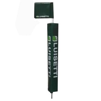 Touchline Flag Pole with Protector & Rigid Flag