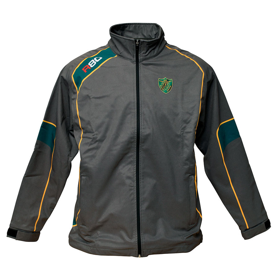 Mid Canterbury Hammers Softshell Supporters Jacket-R80RugbyWebsite-Speed Power Stability Systems Ltd (R80 Rugby)