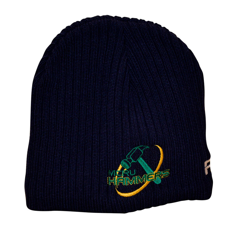 Mid Canterbury Hammers Supporters Beanie-R80RugbyWebsite-Speed Power Stability Systems Ltd (R80 Rugby)