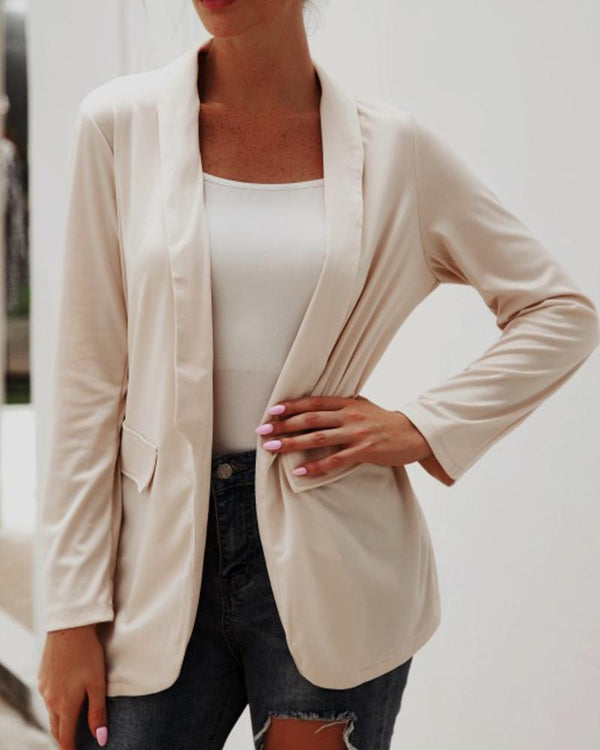 Double Breasted Worksuit Blazer