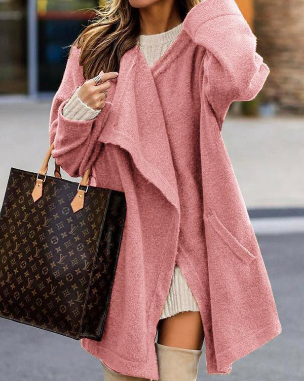 Oversized Open Front Duster Cardigan