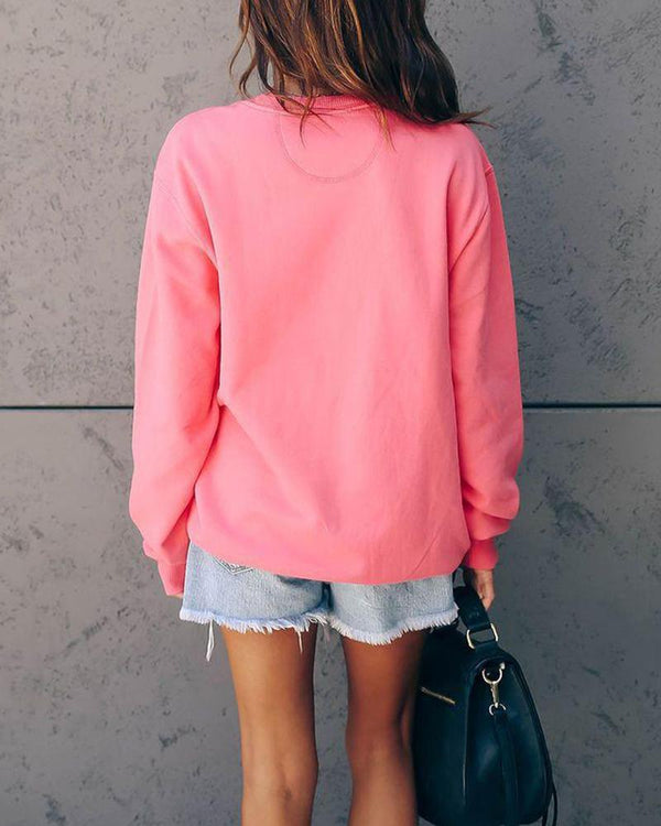 Ciao Hot Pink Sweatshirt