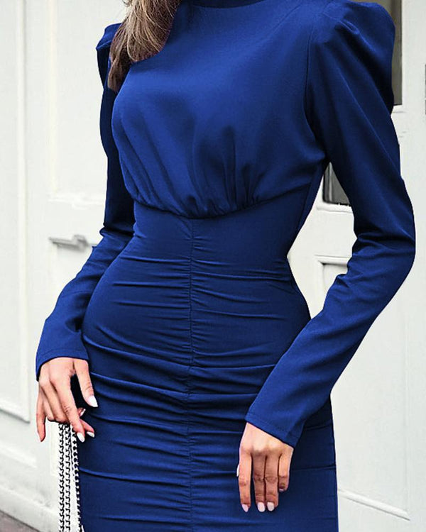 Body-con Long Sleeve Dress