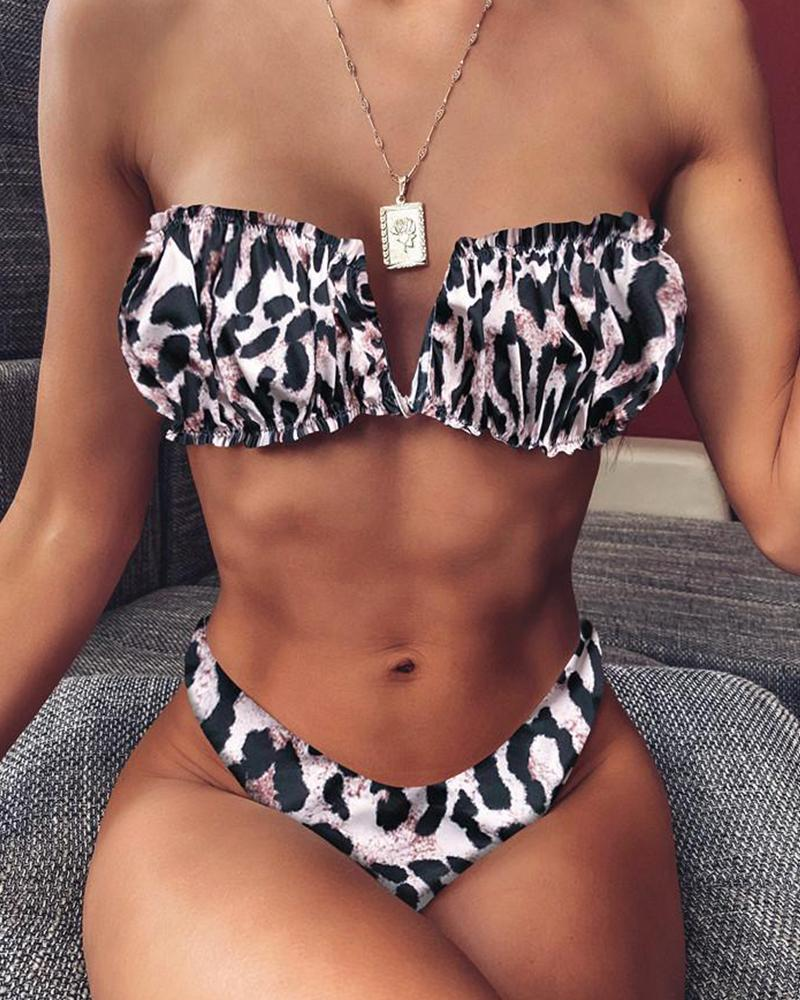 V Cut Two-Piece Bikini