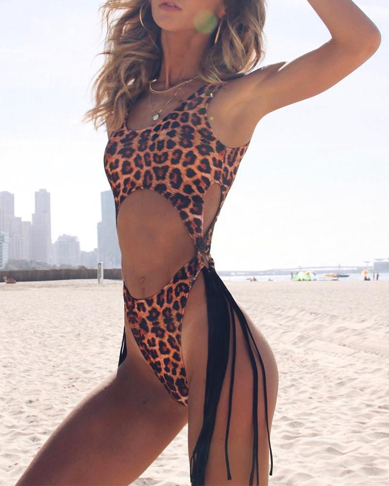 Cut Out One-Piece Swimsuit