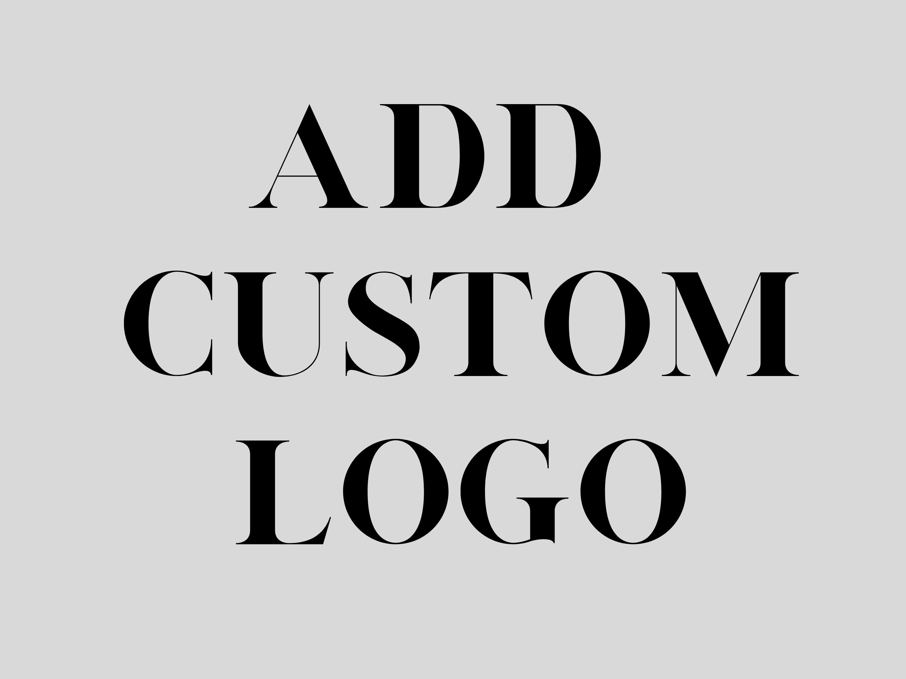Add Custom Logo