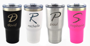 Personalized Metal Tumbler