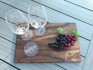 Set of 4 Personalized Acrylic Coasters