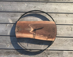 Personalized Live Edge Clock