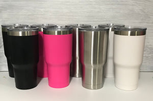 Personalized Metal Wedding Party Tumblers