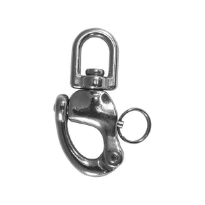 SNAP SHACKLE SWIVEL EYE G316 S/S 125MM