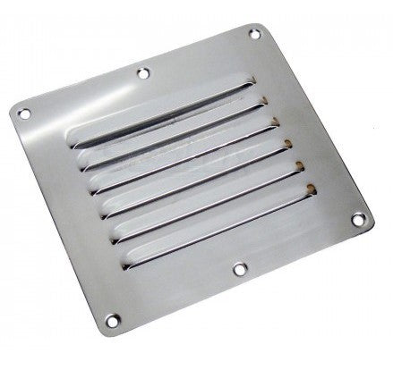 VENT LOUVRE 115 X 127MM STAINLESS