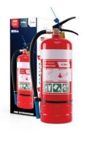 FIRE EXTINGUISHER POWDER 4.5KG ABE