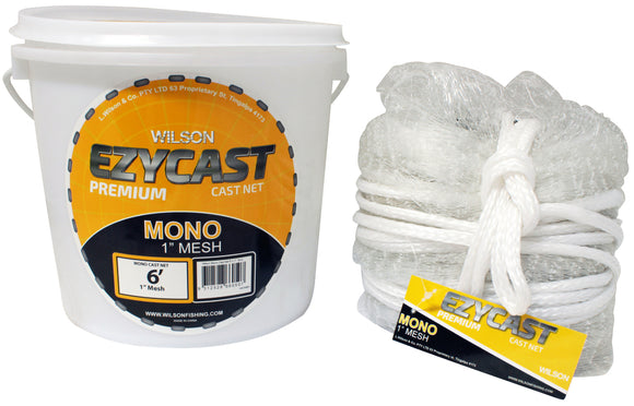 CAST NET MONO 6'X1 EZY CAST