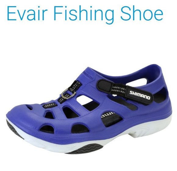 SHOES SHIMANO EVAIR BLUE/BLACK SZ 11