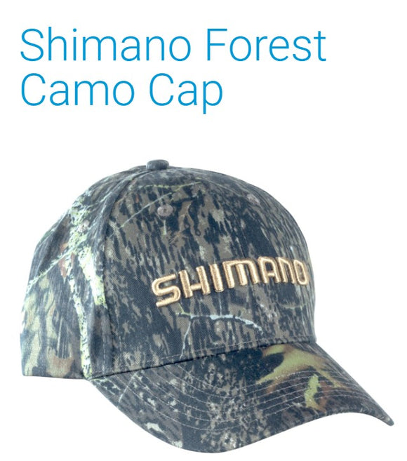 HAT SHIMANO FOREST CAMO