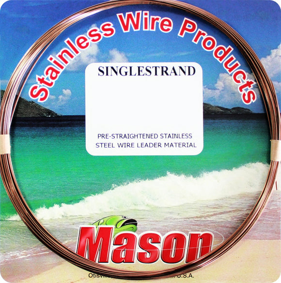 MASON SINGLE S WIRE #11 1/4LB SPOOL