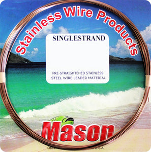 MASON SINGLE S WIRE #9 1/4LB SPOOL