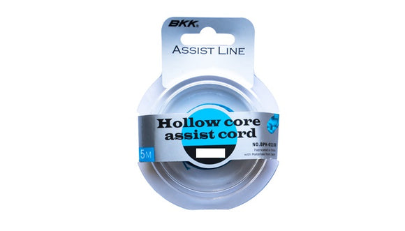 JIG ASSIST CORD HOLLOW BKK 150LB