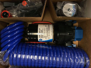 PUMP JABSCO PARMAX 4 WASHDOWN KIT AND HOSE 12V