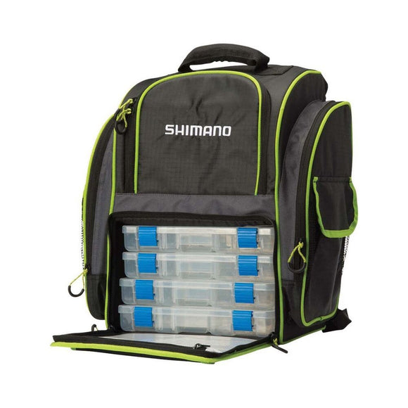 BACKPACK SHIMANO MEDIUM & TACKLE BOX SHIMANO LUGGAGE