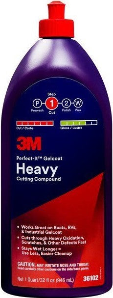 3M PERFECT IT HEAVY CUTTING COMPOUND 946ML