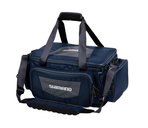 SHIMANO TACKLE BAG LARGE NAVY/GREY/LIME