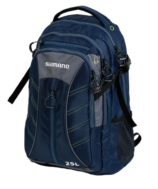 SHIMANO URBAN BACK PACK 25L NAVY/GREY/LIME