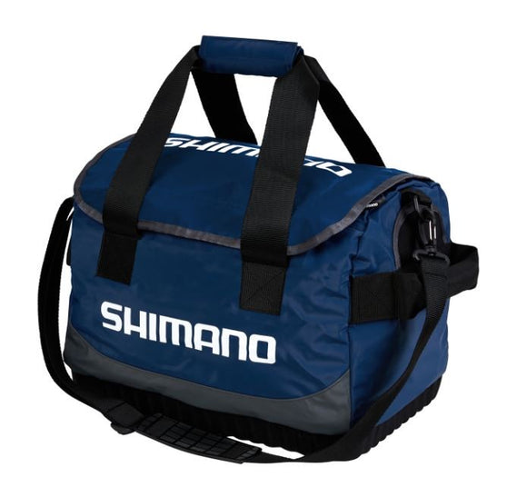 SHIMANO BANAR BAG LARGE NAVY / GREY / LIME