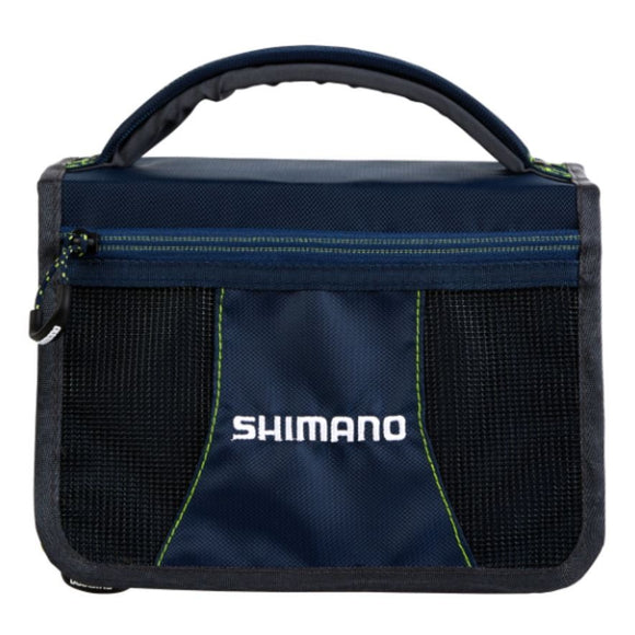 SHIMANO TACKLE WALLET WITH BOX NAVY / GREY / LIME