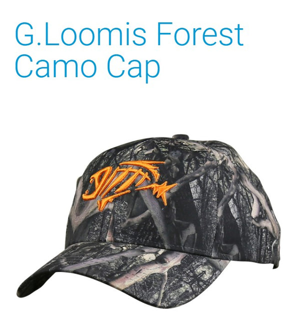 HAT G LOOMIS FOREST CAMO