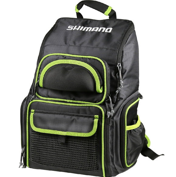 BACKPACK SHIMANO WITH TACKLE BOXES AND SUNGLASS HOLDER