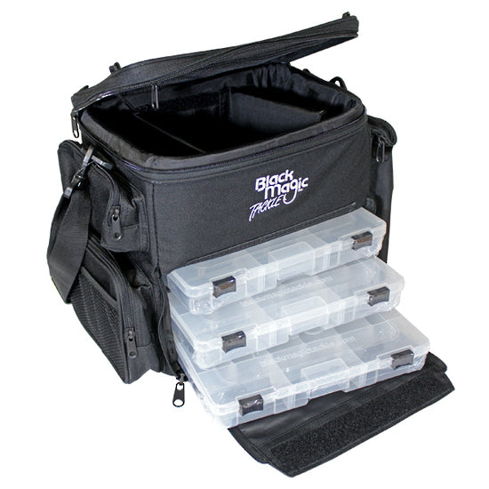 TACKLE BAG BLACK MAGIC DELUXE