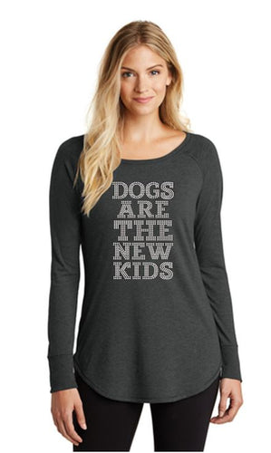 Dogs Are The New Kids Bling Tunic