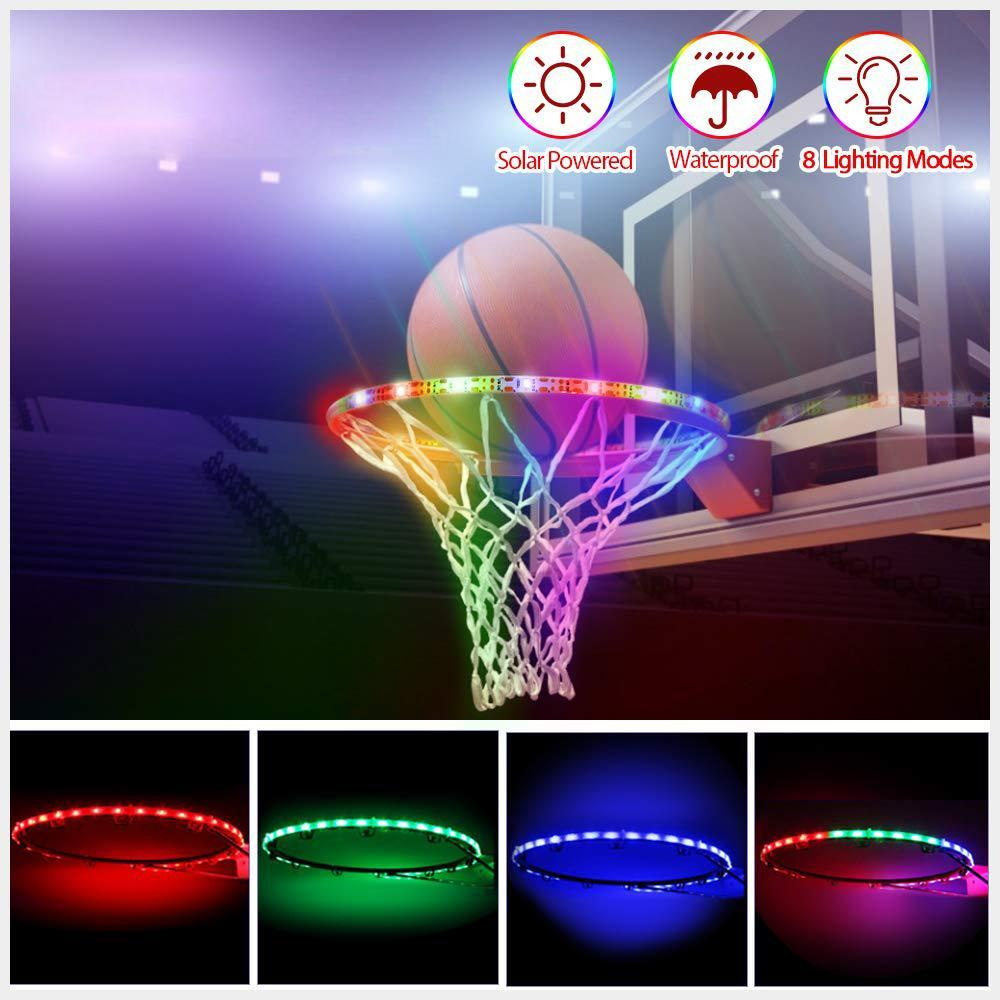 Solar Powered LED Basketball Lights