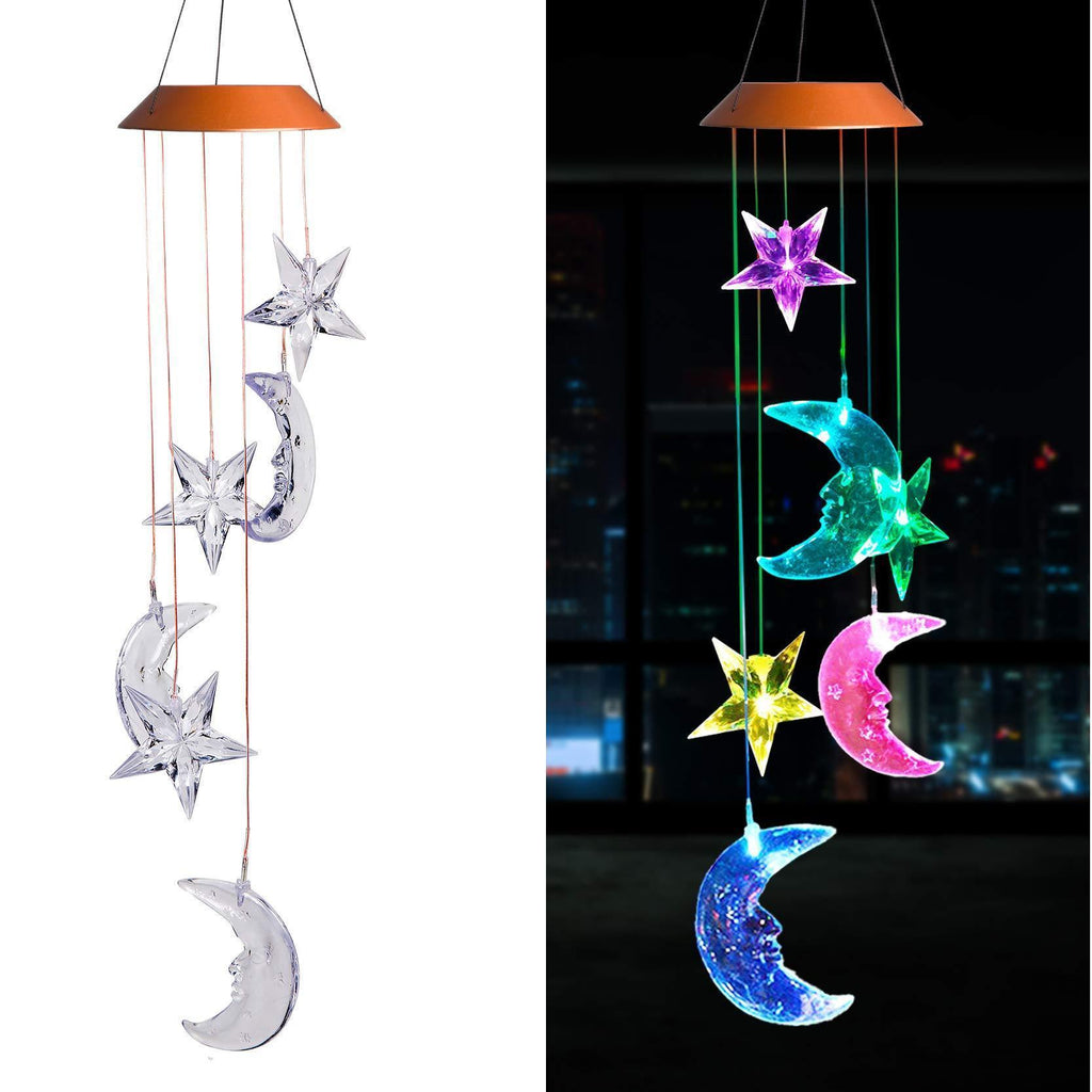 Moon & Stars Solar Light