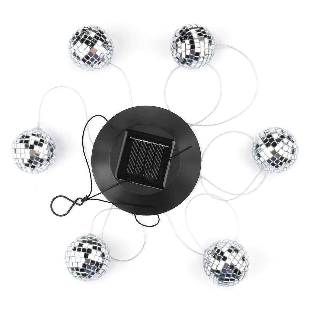 Disco Mirror Ball Solar Light
