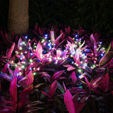Solar Powered Fairy Flower Lights,2 Pack