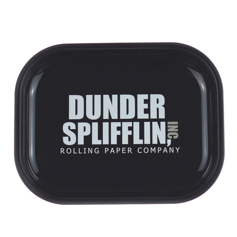 Dunder Splifflin Tin Rolling Tray