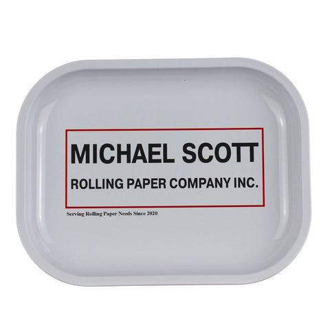 Michael Scott Rolling Paper Company Rolling Tray
