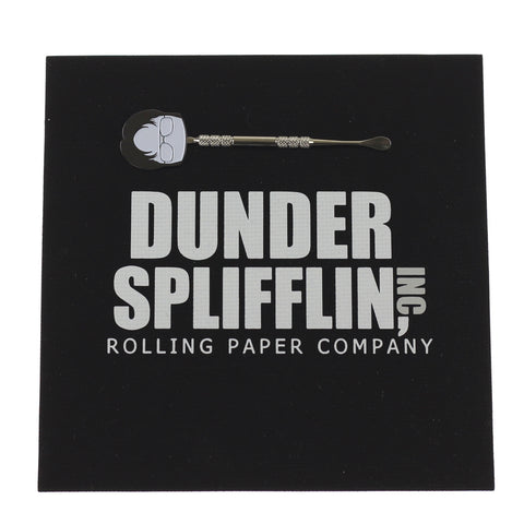 Dunder Splifflin Dab Pad / Glass Mat and Dwight Dabber