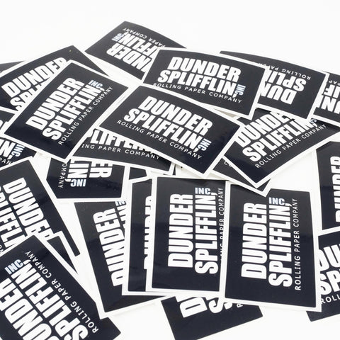 Dunder Spliffin Stickers