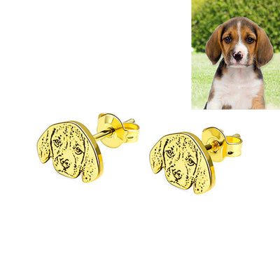 pet earrings
