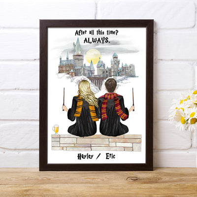 Custom HP Print Couples Gift for Valentines